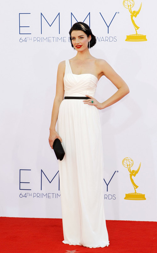 jessica pare One-Shoulder Jason Wu Gown