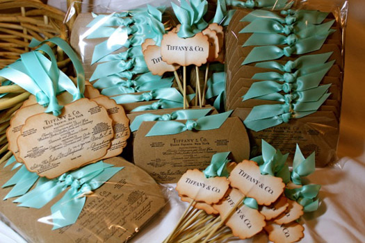 Tiffany Wedding Theme