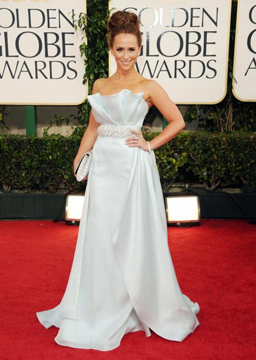 Jennifer Love Hewitt Romona Keveza gown