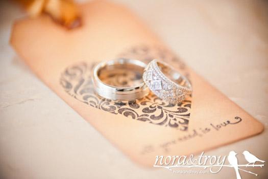 custom wedding tags