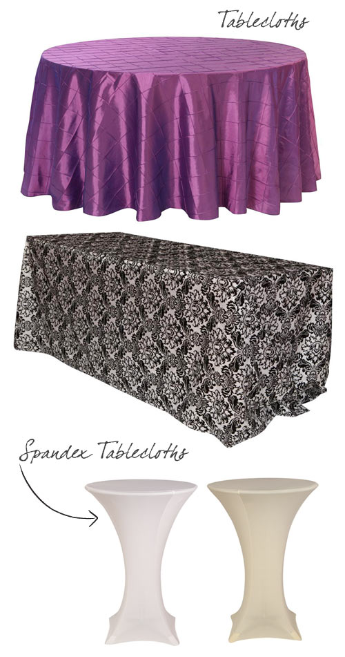 affordable tableclothes