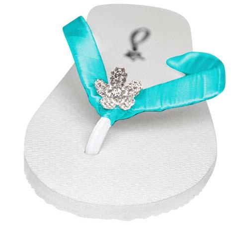 wedding flips flops