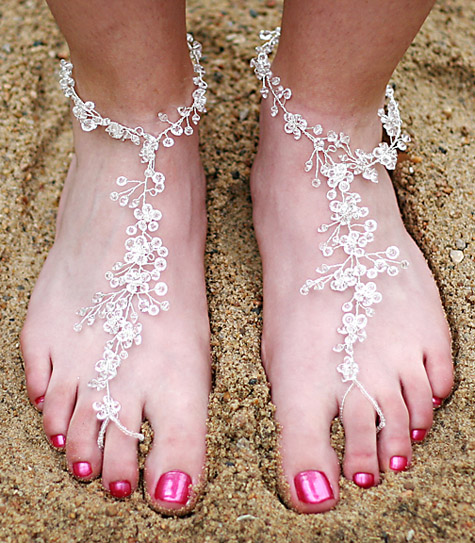 Beach Foot Lace