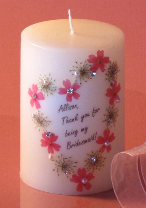 personailzed bridesmaid gift