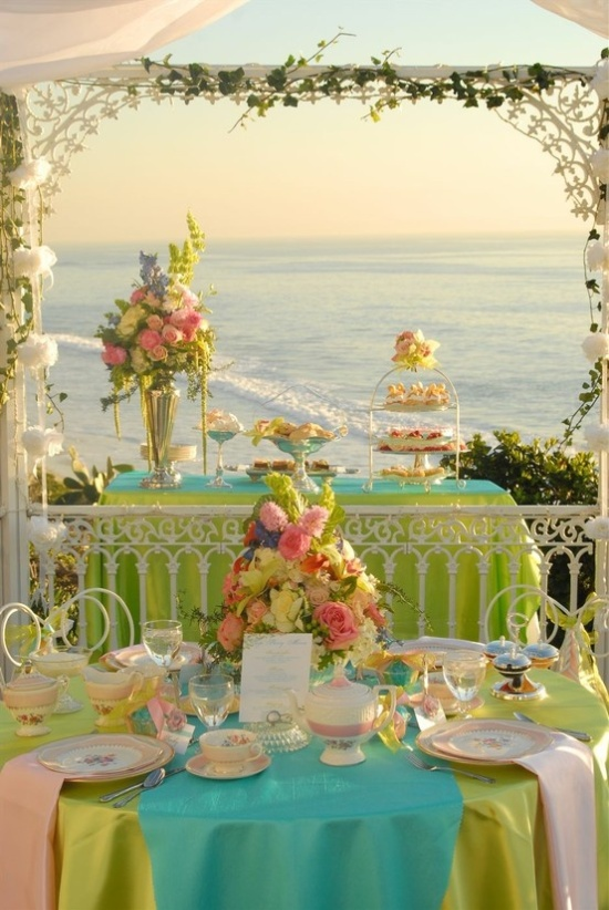 Pastel Colors Are Essential When Creating A Cohesive Easter Wedding Theme Pale Pinks Yellows Greens Purples And Blues All Work Together In Very Bright