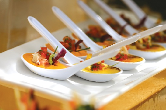 Trends In Wedding Day Buffets That You Need On Your Big Day: Food Stations Wedding Trend