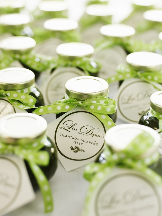 wedding favor ideas jalapeno jelly