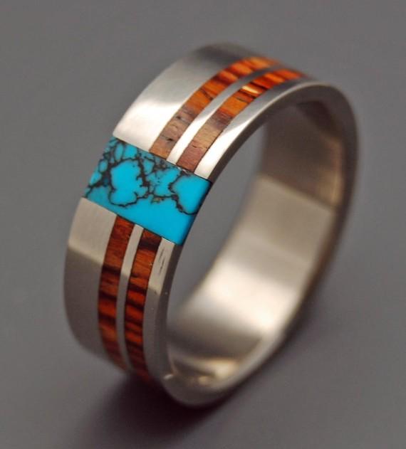 8 Unique Wood Wedding Rings