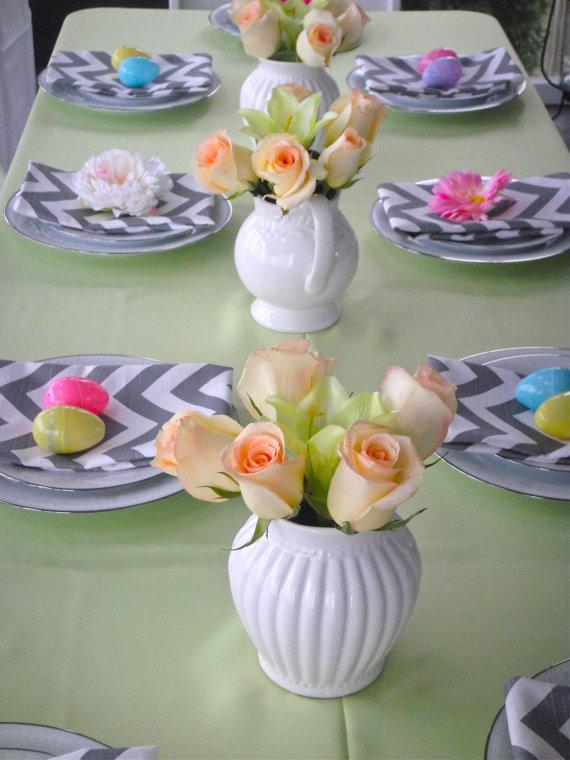 chevron wedding decoration 9