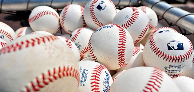baseball wedding theme favor idea