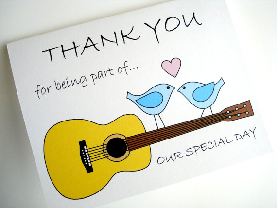 Wedding Thank You Cards helpers