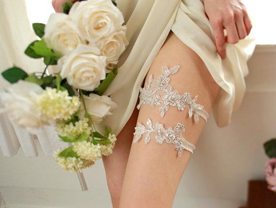Fab Finds Handmade Wedding Garters