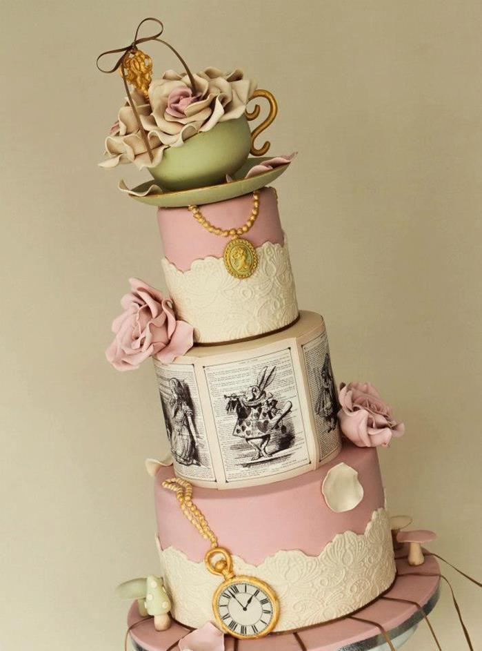 Alice In Wonderland Wedding Bravobride
