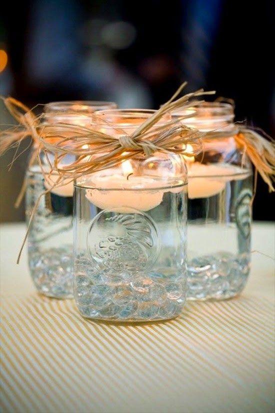 Diy wedding mason jar ideas bravobride floating candles mason jar 39c4e72f5824d2ec050f3e427aa94946 junglespirit Gallery