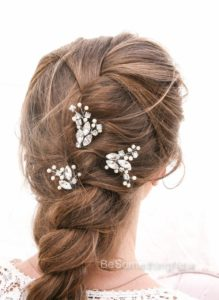 Wedding, Hair Pins, Rhinestone, Hair Jewelry