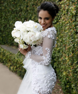 Bride, Pearls, Wedding Dress,