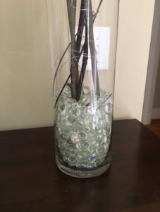 wedding, centerpiece, vase filler, elegant, style