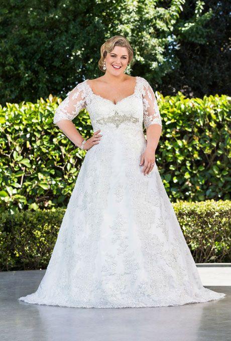 Flattering Wedding Dress Silhouettes for Plus Size Brides | BravoBride