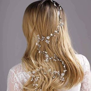 traditional, hair vine, elegant, classic, wedding, bridal