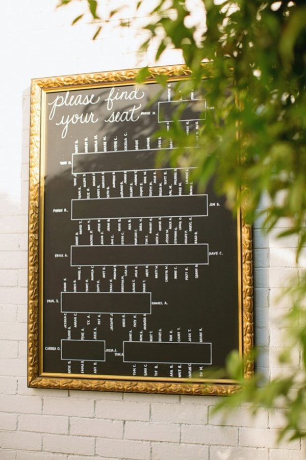Wedding Seating Charts | Bravobride