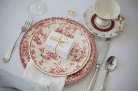 Pink, Vintage, Wedding, Chargers