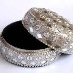 Ring, wedding, box, studs, diamond