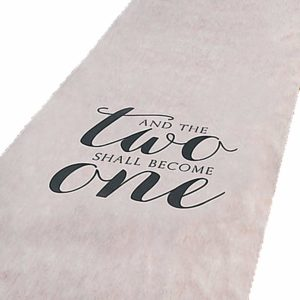 personalized, wedding, aisle runner, black, white, last name, bride to be