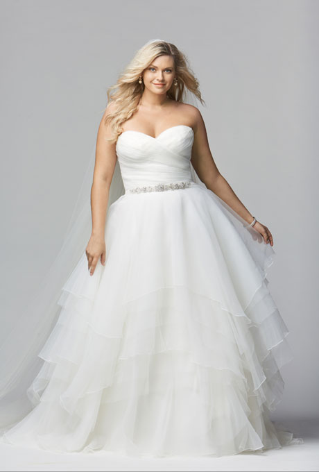 Top Designers For Plus Size Wedding Dresses Bravobride