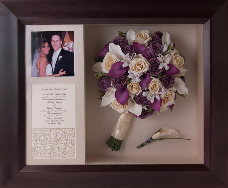 blog find wedding shadow boxes
