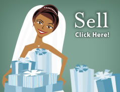 pre-owned wedding items