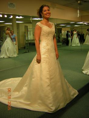 Maggie Sottero Wedding Gown