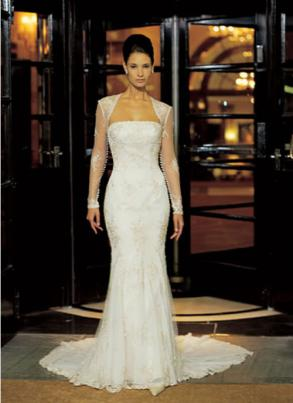 Classy And Sophisticated Justin Alexander Wedding Gown