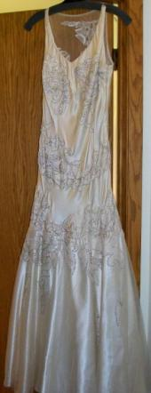 Vintage-looking, Silk, Beaded Sue Wong Gown