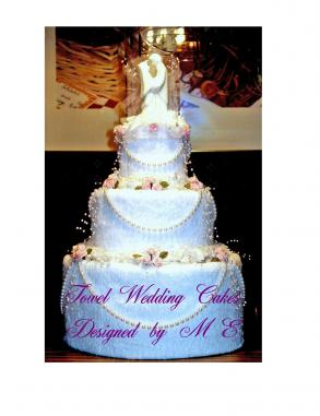 Towel Wedding Cakes