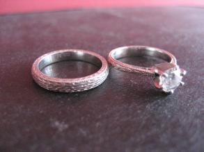 Women's Wedding Ring Set