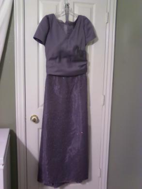 Size 14-22? Amethyst Mother-of-groom Or Formal Dress