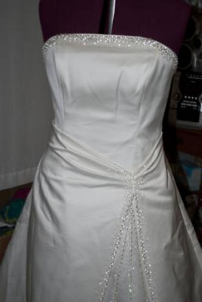 Gorgeous Never Worn/ Altered Wedding Dress