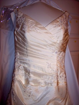Pronovias Galaxia Silk Wedding Gown - Never Worn