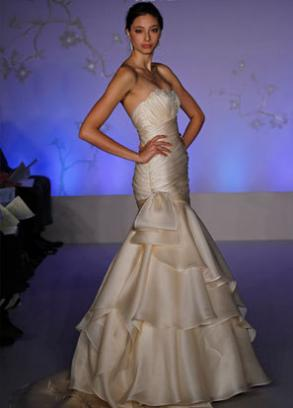 Couture Wedding Gown By Alvina Valenta