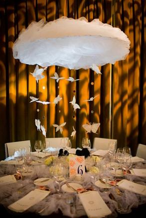 Cloud Hanging Centerpeices Wedding Decoration Bravobride