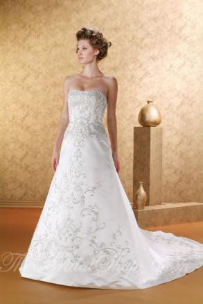 Joli Gowns, #3904, White