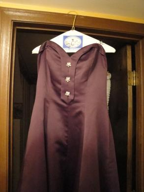 Eggplant Bridesmaid Dress Ensemble
