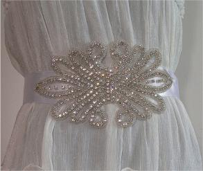 Custom Bridal Sash/belt