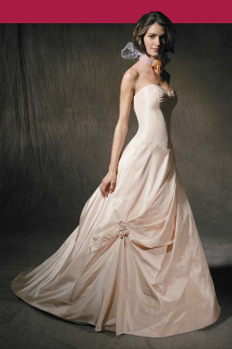 Angelina Faccenda Pink Blush Dress Gown
