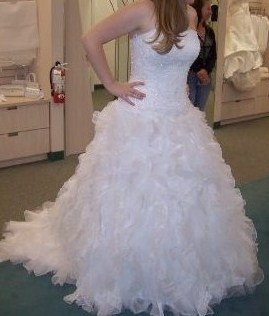 CH515 Monique Luo Davids Bridal preowned