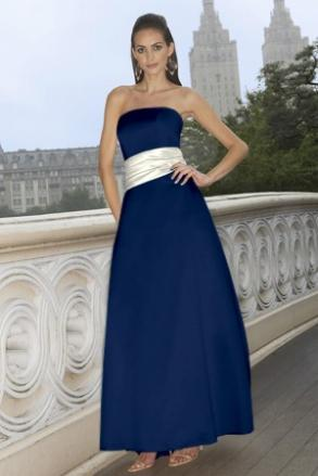 Alexia Design - 3 New Navy Bridesmaids Dress