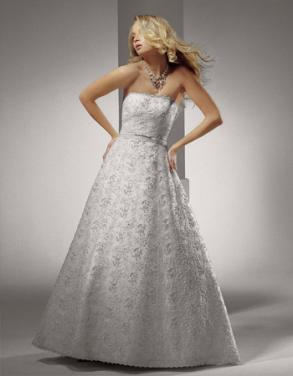 Henry Roth Wedding Dress - Covered With Swarovski Crystal S0-2