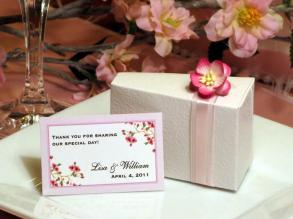 wedding cake boxes canada personalized 42 wedding favor cake boxes centerpiece 22064