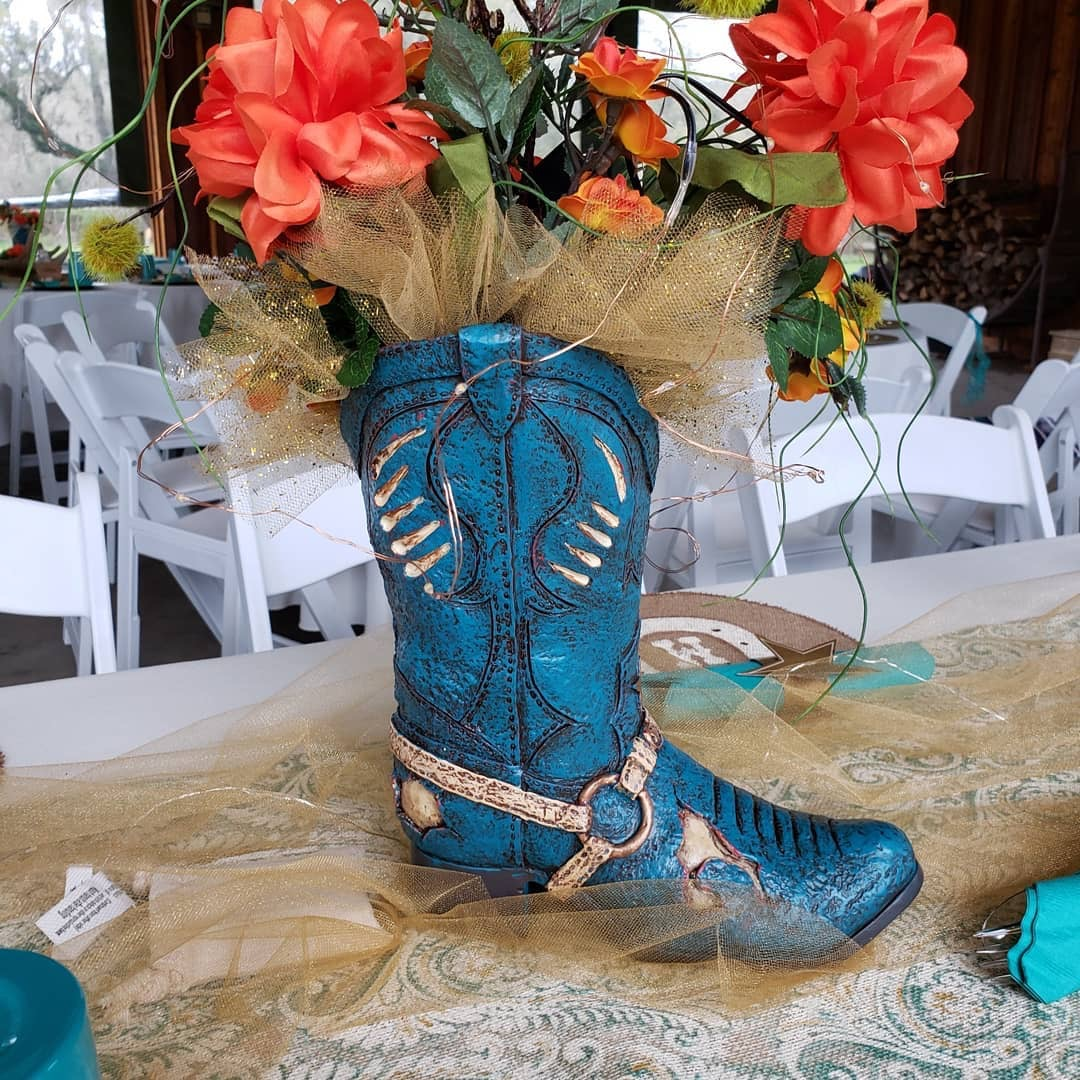 Rustic Country Cowboy Boot