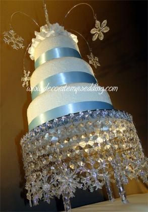 Crystal Wedding Cake Stand